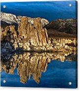 Mono Lake In March Acrylic Print