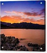 Mono Lake Sunset Acrylic Print