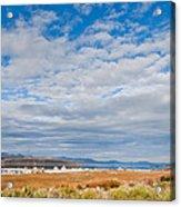 Mono Lake Tufa Formations Acrylic Print