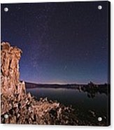 Mono Lake, Usa, At Night Acrylic Print