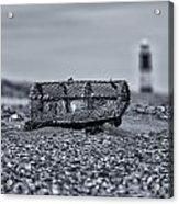 Mono Lighthouse 02 Acrylic Print