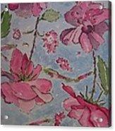 Monochromatic Roses Acrylic Print
