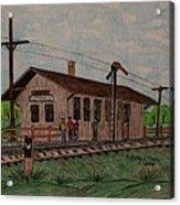 Monon Ellettsville Indiana Train Depot Acrylic Print