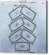 Monopoly Money Patent Acrylic Print