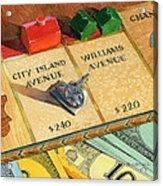 Monopoly On City Island Avenue Acrylic Print