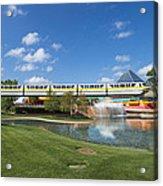 Monorail Acrylic Print