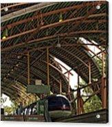 Monorail Depot Disneyland 01 Acrylic Print