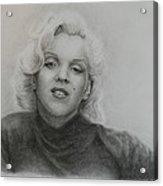 Monroe Acrylic Print by Brent  Mileham