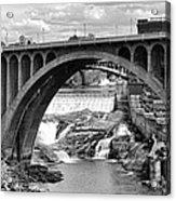 Monroe St Bridge Of Spokane Acrylic Print