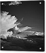 Monsoon Clouds At Sunset Acrylic Print