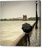 Monsoon In Mumbai Acrylic Print