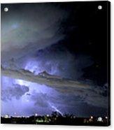 Monsoon Lightning Acrylic Print