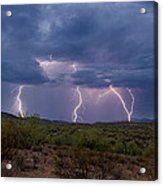 Monsoon Madness Strikes  Acrylic Print