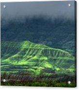 Monsoon Over Mountains Acrylic Print