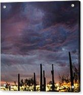 Monsoon Sunset Acrylic Print