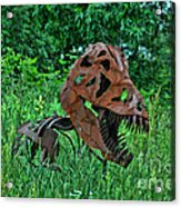 Monster In The Grass Acrylic Print