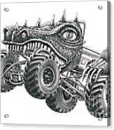 Monster Truck Acrylic Print