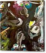 Monsters Afoot  Acrylic Print by Michelle Dommer