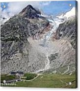 Mont Blanc Acrylic Print