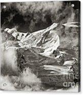 Mont Blanc Group Acrylic Print