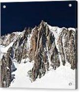 Mont Blanc Massif Acrylic Print