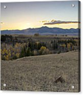 Montana Back Country Acrylic Print by Dana Moyer