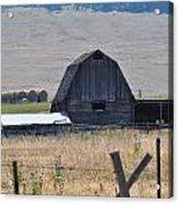Montana Barn Acrylic Print