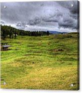 Montana Breeding Ground Acrylic Print