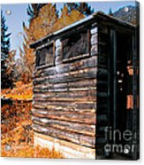 Montana Outhouse 03 Acrylic Print