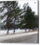 Montana Weather Report Acrylic Print