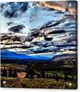 Montanta Sunset Acrylic Print