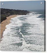 Montara State Beach Pacific Coast Highway California 5d22622 Acrylic Print by Wingsdomain Art and Photography