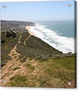 Montara State Beach Pacific Coast Highway California 5d22633 Acrylic Print