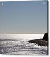Montauk Beach And Bluff Acrylic Print