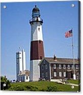 Montauk Lighthouse Long Island New York Acrylic Print