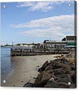 Montauk Port Long Island Acrylic Print