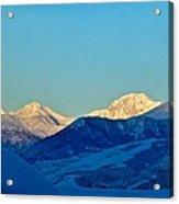 Monte Bianco Acrylic Print