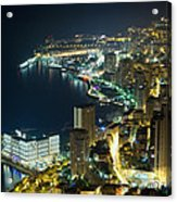 Monte Carlo By Night  Acrylic Print