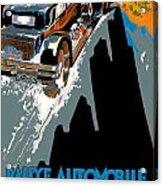 Monte Carlo Rallye Automobile Acrylic Print