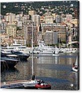 Monte Carlo Sailing - Monaco French Riviera Acrylic Print