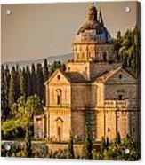 Montepulciano Tuscany Acrylic Print