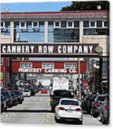Monterey Cannery Row California 5d25034 Acrylic Print