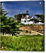 Monterey Lighthouse Acrylic Print