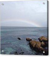 Monterey Rainbow Acrylic Print