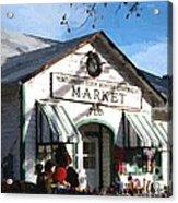 Montgomery County Market Acrylic Print