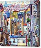 Montmartre View Acrylic Print