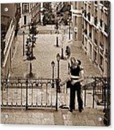 Montmartre Moment Acrylic Print
