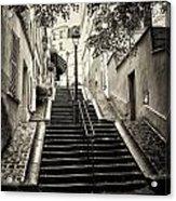 Montmartre Mono 01 Acrylic Print