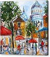 Montmartre Paris Acrylic Print