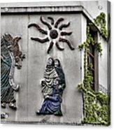 Montmartre Wall Art  Acrylic Print